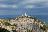 Lighthouse on Cap de Formentor. Majorca island Spain