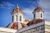 Cathedral of San Juan Bautista in San Jaun, Puerto Rico.