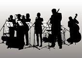 Постер, плакат: Музыка джаз