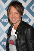 LOS ANGELES - JAN 13:  Keith Urban at the FOX TCA Winter 2014 Party at Langham Huntington Hotel on J