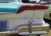 1958 Blue Edsel Citation Tail Light
