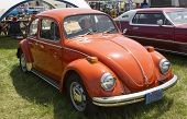 1971 Orange Vw Beetle
