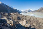 Tasman Glacier, Mt. Cook National Park