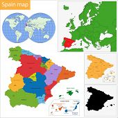 Administrative division of the Kingdom of Spain