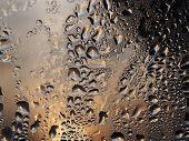 Water Drops On A Window