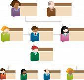 Organizational People Box Chart