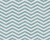 Pale Teal And White Zigzag Textured Fabric Background