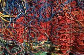 Cables Red Blue