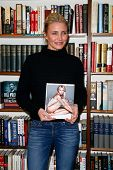 HUNTINGTON, NY-JAN 13: Cameron Diaz signs 'The Body Book: The Law of Hunger, the Science of Strength
