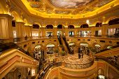 MACAU, CHINA - NOVEMBER 2, 2012: The Venetian - very famous entertainment complex includes the large