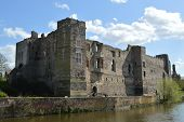 Ruins of Newark Castle in England