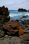Stone   Beach  And Summer