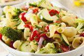 Healthy Homemade Pasta Salad