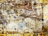 Grunge Abstract Poster Wall Background