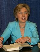 PASADENA - JUN 29: Hillary Rodham Clinton at a book signing of 'LIVING HISTORY' by Hillary Rodham Cl