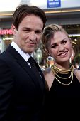LOS ANGELES - JUN 17:  Stephen Moyer, Anna Paquin at the HBO's