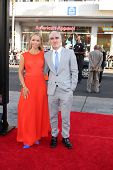 LOS ANGELES - JUN 17:  Lauren Bowles, Patrick Fischler at the HBO's