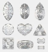 foto of marquise  - Different cuts of a diamonds - JPG