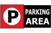 Parking Vehicle Sign Symbol Area