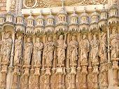 Statues at Santa Maria de Montserrat basilica