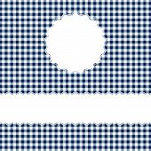picture of bordure  - Checkered Cover Background With Space For Text - JPG