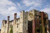 stock photo of hever  - An English medieval castle with an overcast sky - JPG