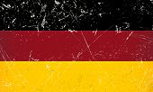 Grunge Flag Country - Germany