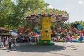 People Riding Ferris Wheel