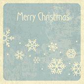Merry Christmas Retro Design