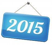 next year 2015 new start happy new year