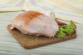 Raw Chicken Breast