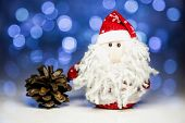 Santa Claus With Pine Cone