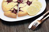 Bilberry Cheesecake