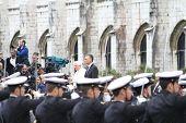 Papst Benedikt Xvi besucht Portugal 11 Mai