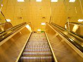 Yellow Escalator