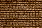 Texture Of Terry Fabric Brown Color