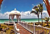Romantic and paradise  island  Cuba Varadero