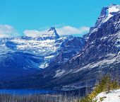 Glacier National Park, Montana.Winter.