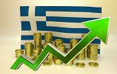 currency appreciation - Greek euro
