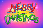 Ornamental Background of Holy Christmas