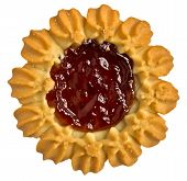 Cookies With Jam In The Center