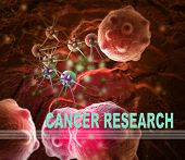 Cancer Research illustration