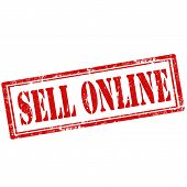 Sell Online-stamp