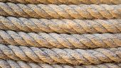 Brown Rough rope background