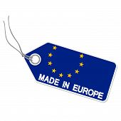 Hangtag With Made In Europe