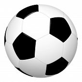 Football Classical - Black And White