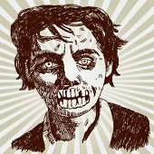 Portrait of Zombie