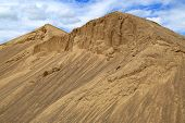 Hills Of Construction Sand