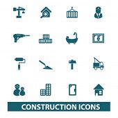 picture of skid-steer  - construction icons - JPG