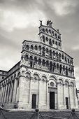 foto of michel  - San Michele in Foro built over the ancient Roman forum is an ancient church - JPG